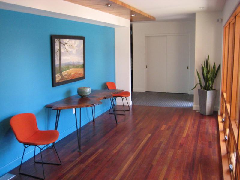 青い壁の家はこんなかんじ初めての住宅講座